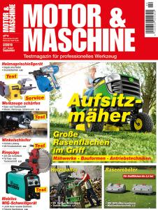 Cover Motor&Maschine