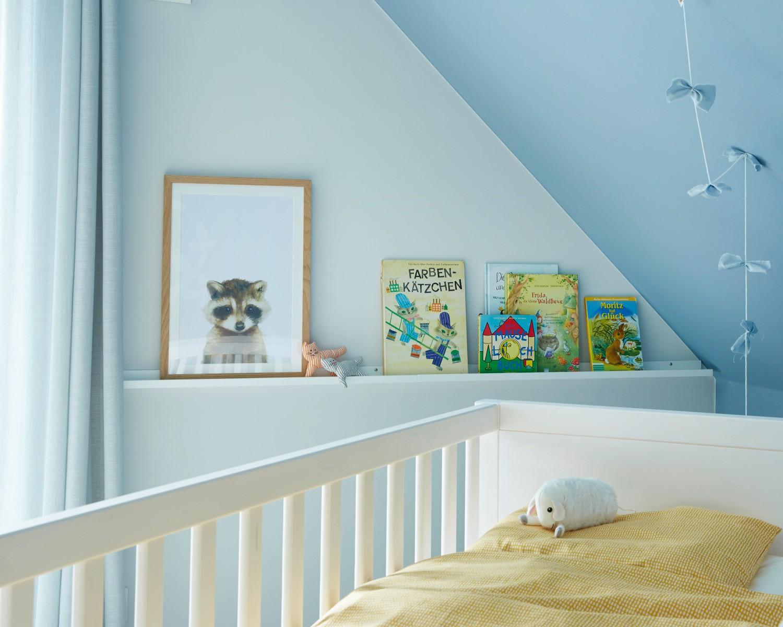 alpina bietet wohngesunde wandgestaltung f r das babyzimmer bild 1. Black Bedroom Furniture Sets. Home Design Ideas