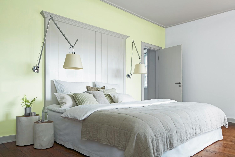 beim zusammenziehen ganz einfach eine gemeinsame wandfarbe. Black Bedroom Furniture Sets. Home Design Ideas