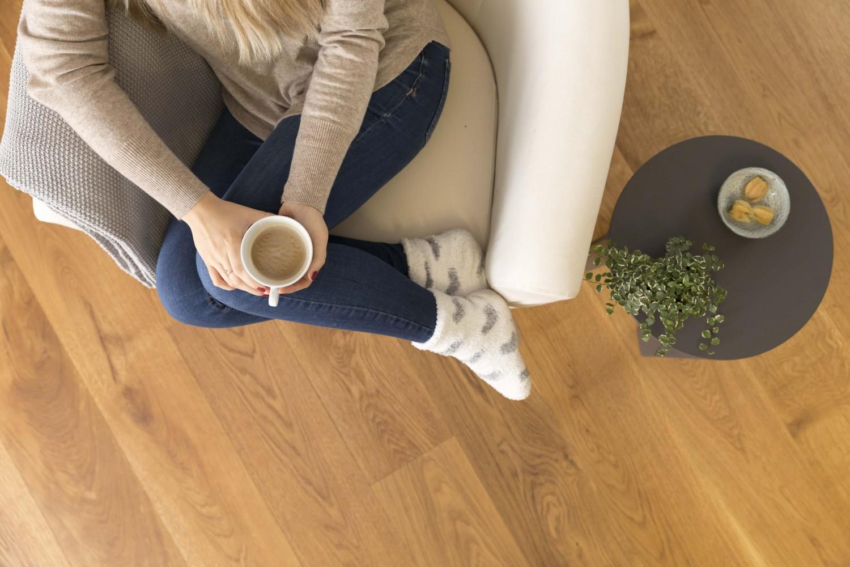Baustoffe Skandinavischer Holzboden-Look mit AURO - News, Bild 2