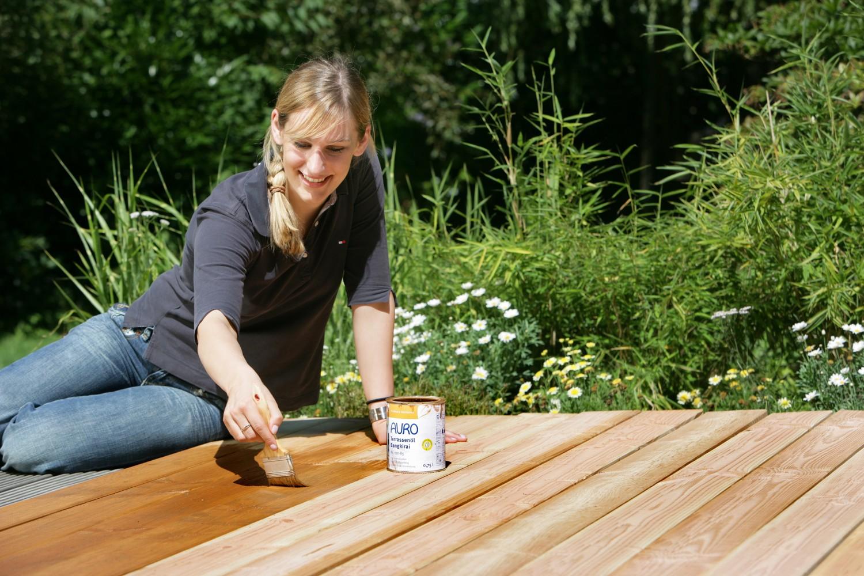 Zubehör Holzterrassen und Gartenmöbel natürlich auffrischen - News, Bild 1