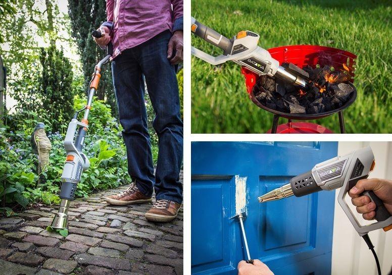Gartengeräte Maxxheat: Unkrautvernichter, Heißluftpistole und Grillanzünder in einem Gerät - News, Bild 1