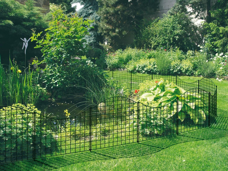 Inspirierend Gartenteich Bildergalerie Referenz Von Bildergalerie: Gartenteich-schutz Oder Beetumrandung Mit Den Zaunelementen
