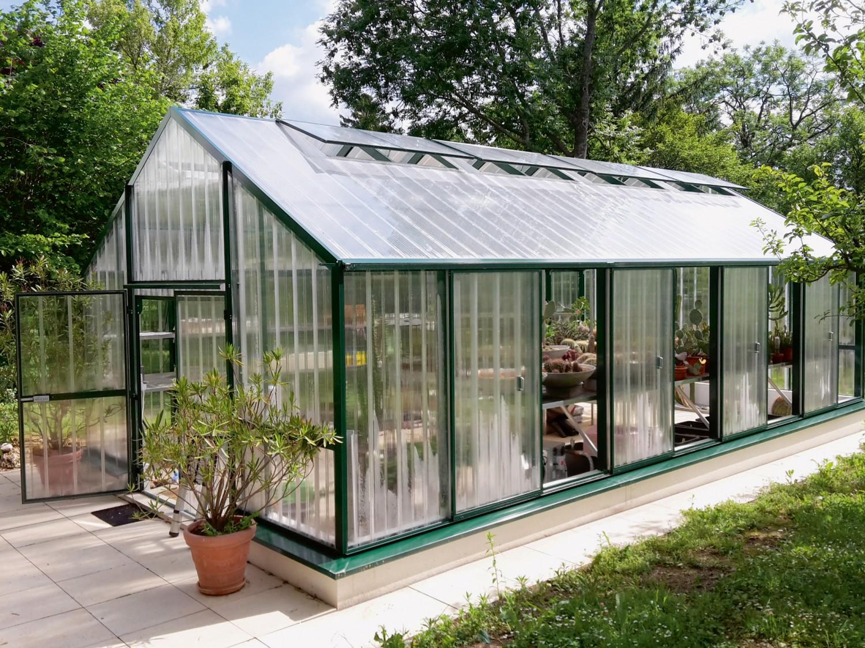 gew chshaus mit stabiler acrylverglasung von princess glashausbau sterreich bild 1. Black Bedroom Furniture Sets. Home Design Ideas