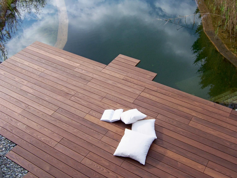 Garten Leicht zu verlegen und langlebig - Speziell behandelte Thermo-Esche von Brenstol verschönert die Terrasse - News, Bild 1
