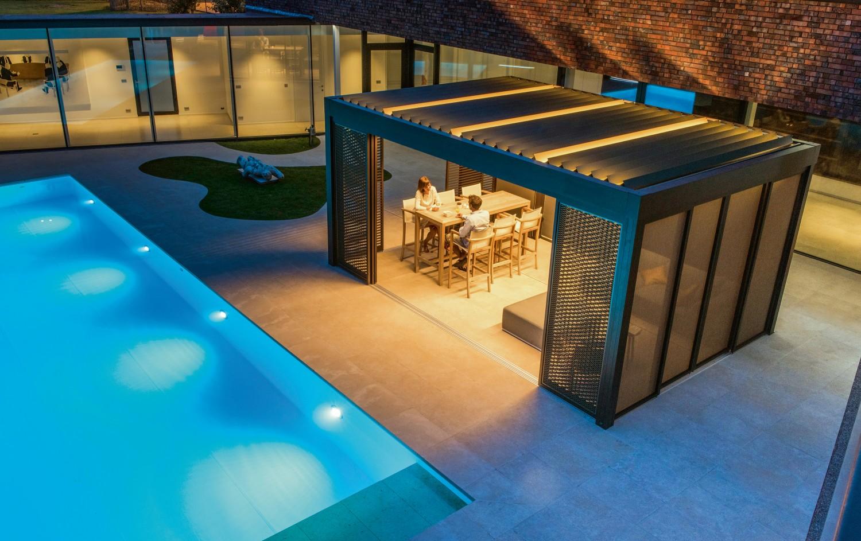 Garten Neue Sonnenschutz-Modelle von Renson verleihen dem Außenbereich eine besondere Atmosphäre - News, Bild 1