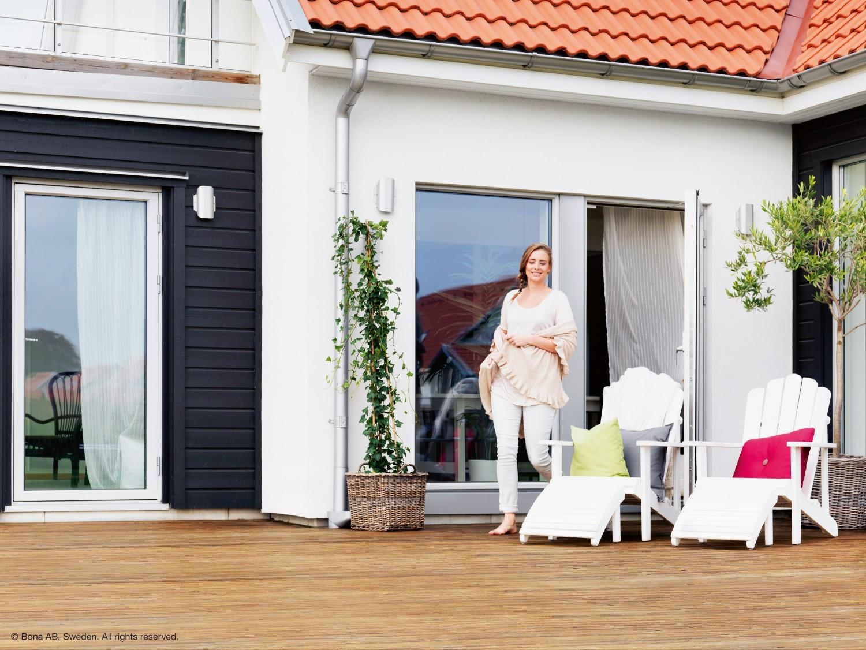 pflege pur drei komponenten system von bona verhilft. Black Bedroom Furniture Sets. Home Design Ideas