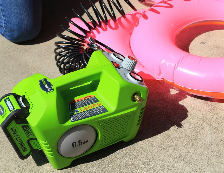 Rund ums Haus Akkubetriebener Kompressor von Greenworks - News, Bild 1