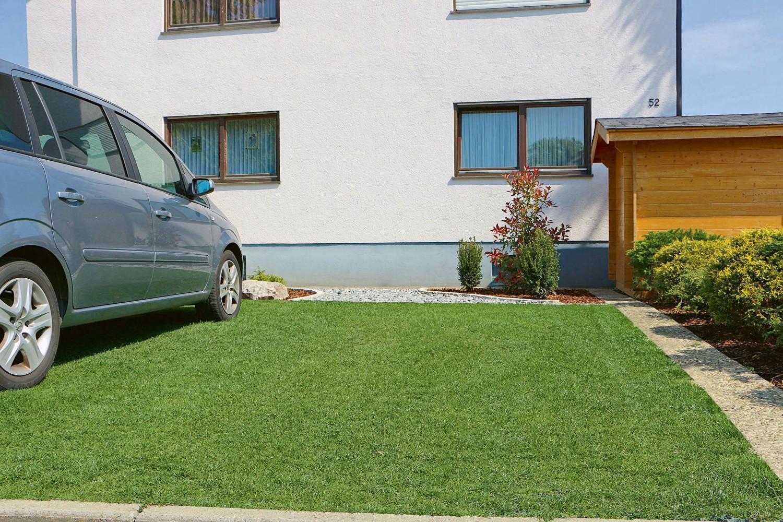 Garten Keine Betonwüste – Rasengitter von Gutta befestigen Bodenflächen auf natürliche Weise - News, Bild 1