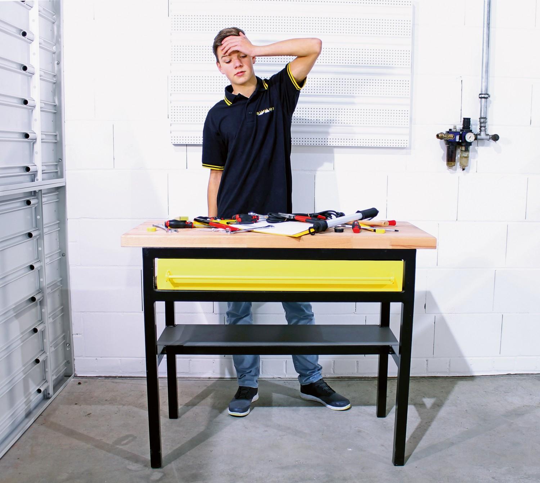 """Handwerkzeuge Ordnung an der Werkbank: Werkzeugwand """"Tool Board"""" von Sunline als Begleiter für Handwerk und Hobby - News, Bild 1"""