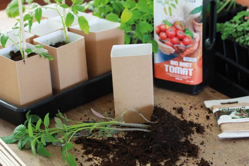 Garten Umwelfreundliche Anzuchttöpfe aus Papier aus dem Hause Nelson Garden - News, Bild 1