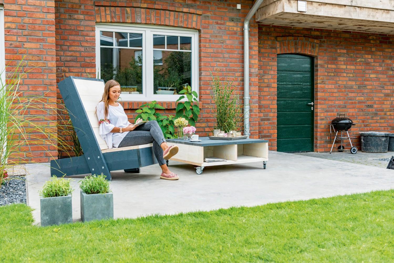 Arbeitsschutz Robuster Charme - Mit altem Bauholz von Osmo Creativ zu individuellen Gartenmöbeln - News, Bild 1