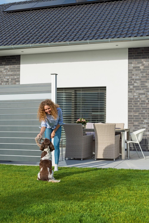 Garten Frischer Look für den Garten - Trendige Alu-Elemente bilden den perfekten Sichtschutz - News, Bild 1