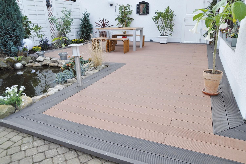 hochwirksamer grundreiniger von osmo beseitigt alle spuren auf composit terrassen bild 1. Black Bedroom Furniture Sets. Home Design Ideas