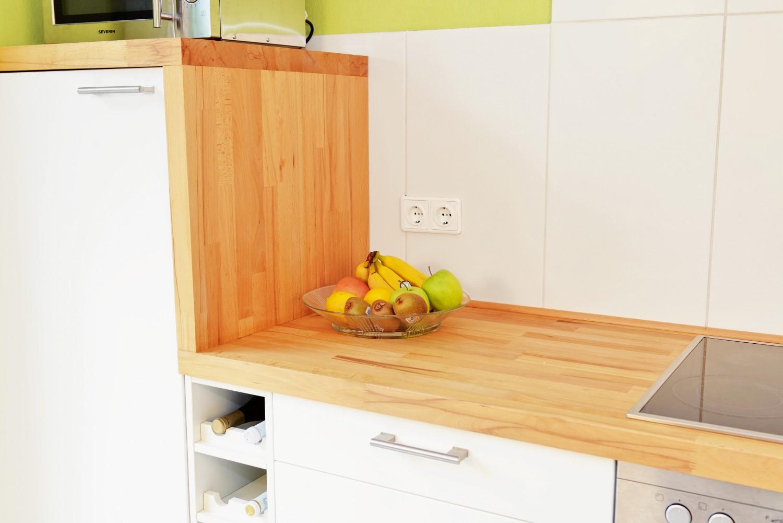 Rund ums Haus Lebensmittelechter Schutz von Osmo für Küchenarbeitsplatten aus Holz - News, Bild 1