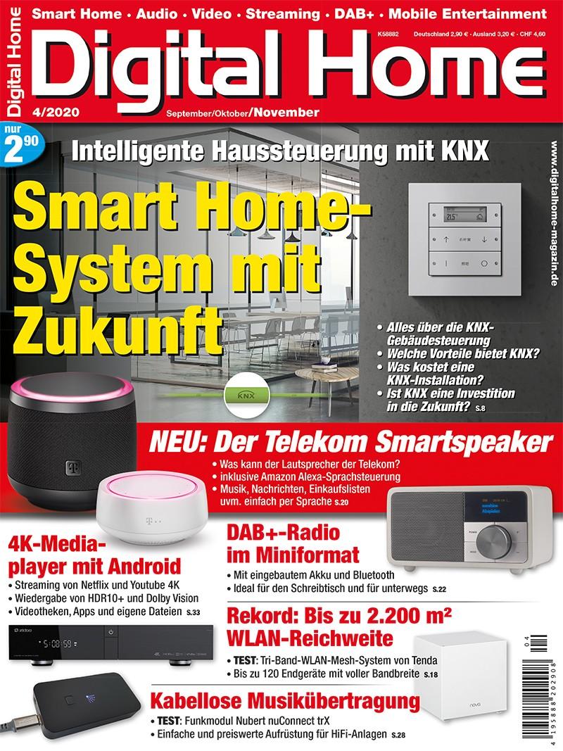 Produktvorstellung Digital Home 4/2020 - alles über die KNX-Gebäudesteuerung - News, Bild 1