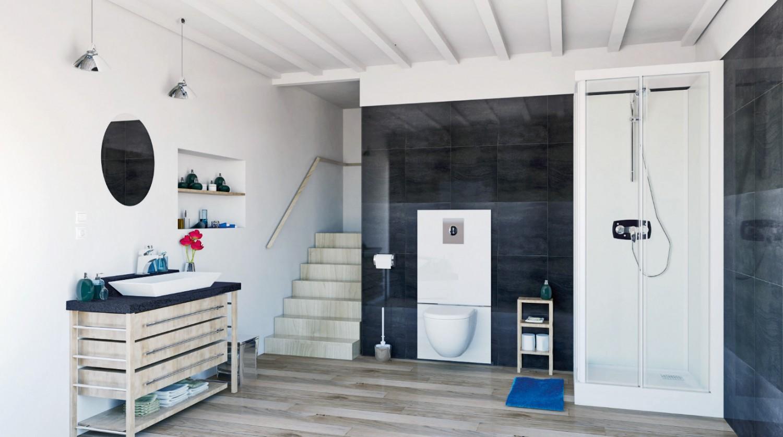 Rund ums Haus Das Komplett-Set von Sanibroy für ein nachträglich entstandenes Badezimmer - News, Bild 1