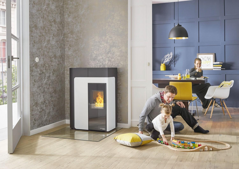der pelletofen hsp 8 home von haas sohn f r mehr mobilit t und freiheit. Black Bedroom Furniture Sets. Home Design Ideas
