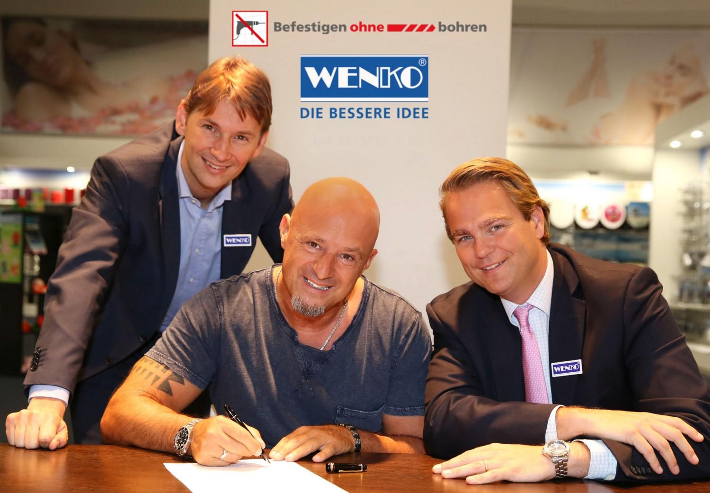 """Rund ums Haus Detlef Steves ist Markenbotschafter für das """"Befestigen ohne bohren""""-Sortiment von WENKO - News, Bild 1"""