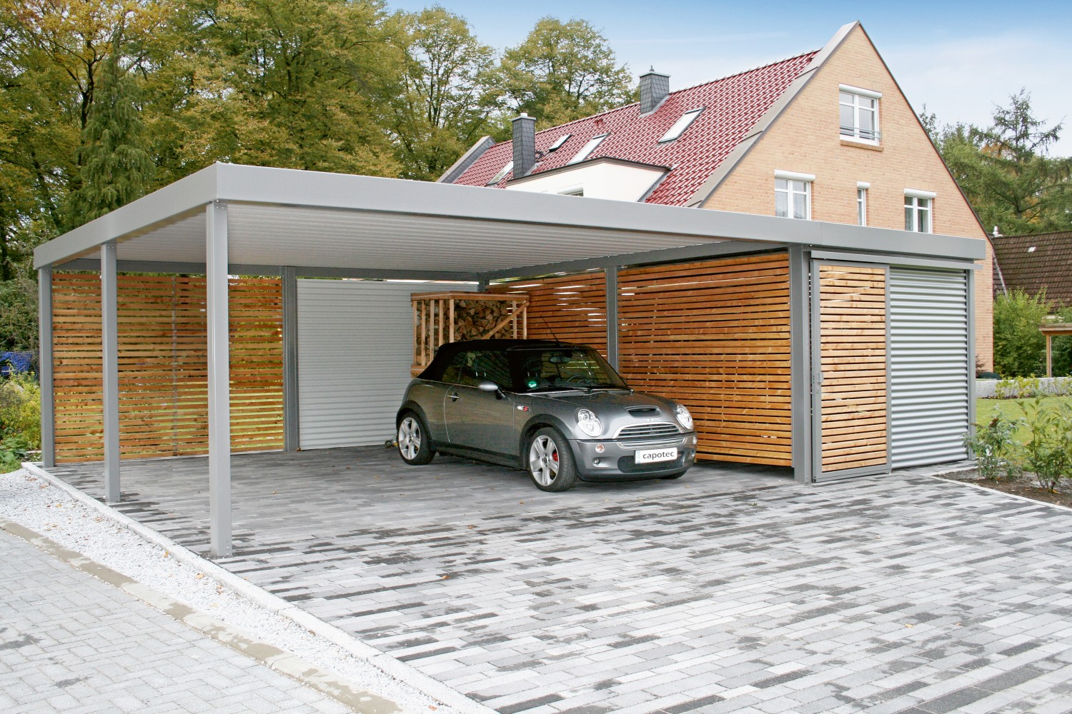 deutlich mehr als nur ein dach den carport flexibel als mehrzweckraum nutzen bild 1. Black Bedroom Furniture Sets. Home Design Ideas