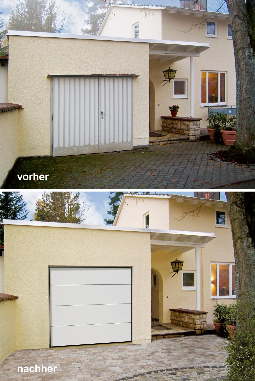 Rund ums Haus Entrematic Normstahl-Garagentore bieten die passende Lösung für alte Garagentore - News, Bild 1