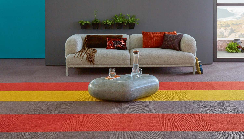 Rund ums Haus Farben aus der Natur für das Wohlbefinden im Wohnzimmer mit Tretford-Teppichen - News, Bild 1