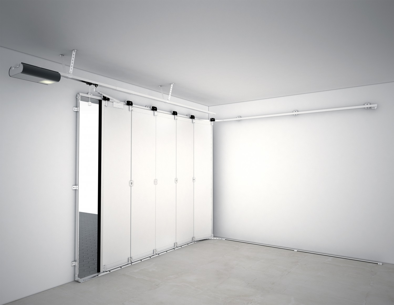 garagen optimal nutzen seitensektionaltore lassen platz bis unter die decke. Black Bedroom Furniture Sets. Home Design Ideas