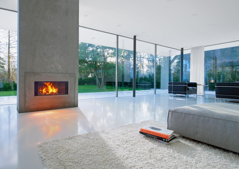 Rund ums Haus Kaminofen harmonisch eingepasst mit der Brennzelle Premium Varia ASh aus dem Hause Spartherm - News, Bild 1