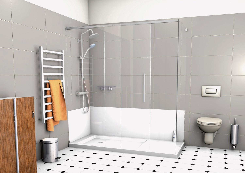 lebensqualit t gewinnen durch badumbau mit tecnobad bild 1. Black Bedroom Furniture Sets. Home Design Ideas