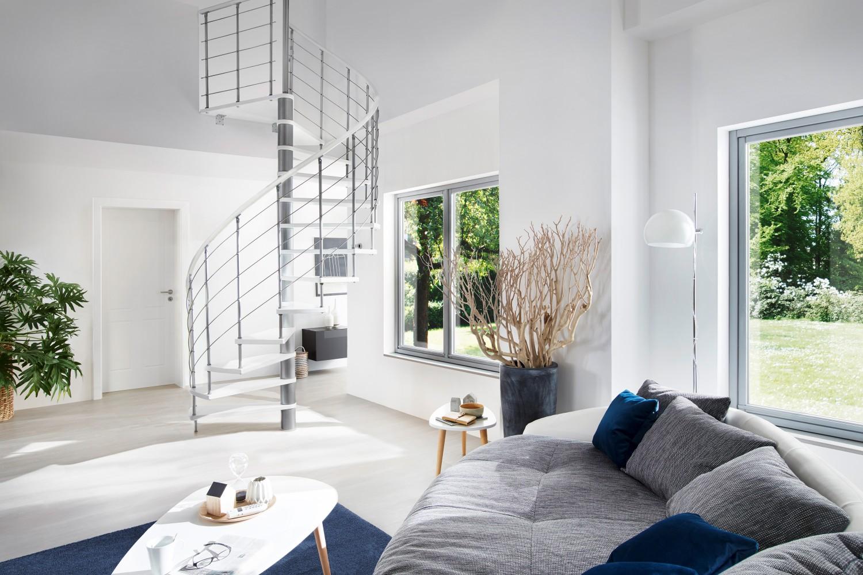 Rund ums Haus Mehr Platz mit Raumspartreppen – Intercon Treppen sind flexibel, komfortabel und trittsicher - News, Bild 1