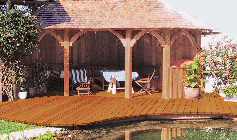 neues leben f r die holzterrasse schutz vor regen wind und uv vergrauung. Black Bedroom Furniture Sets. Home Design Ideas