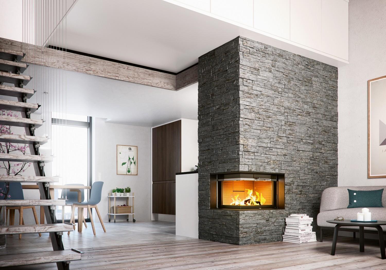 nicht mehr lange bis zum herbst der kamineinsatz visio von attika sorgt f r gem tliche stunden. Black Bedroom Furniture Sets. Home Design Ideas