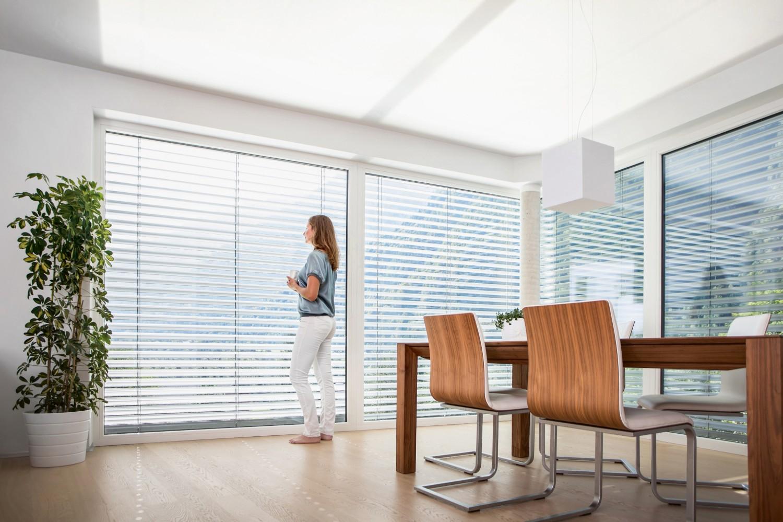 """Rund ums Haus Raffstore """" RETROLux"""" als wirksamer Sonnenschutz mit ungestörter Durchsicht - News, Bild 1"""