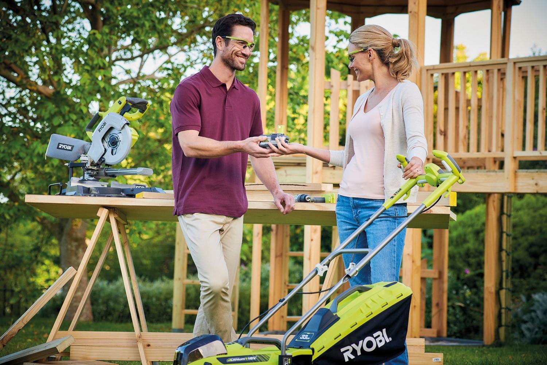 Rund ums Haus Ryobi baut die 18-Volt-Akkuplattform ONE+ auf über 100 Produkte aus - News, Bild 1