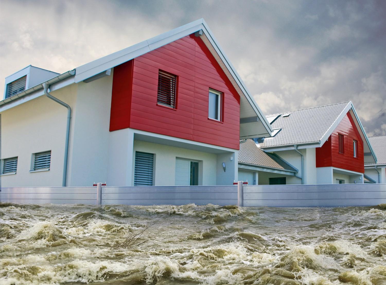 Rund ums Haus Schutz vor Schäden durch Wasser mit Hochwasserschutz von PREFA - News, Bild 1