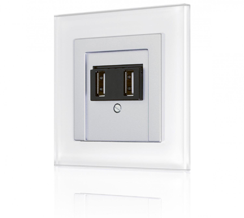 usb ladestation als lichtschalter getarnt auch ersatz f r unterputzsteckdose. Black Bedroom Furniture Sets. Home Design Ideas