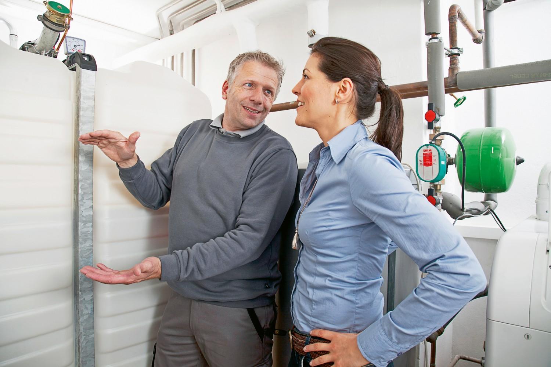 Rund ums Haus Wärmeversorgung mit Öl-Brennwerttechnik und erneuerbaren Energien - News, Bild 1