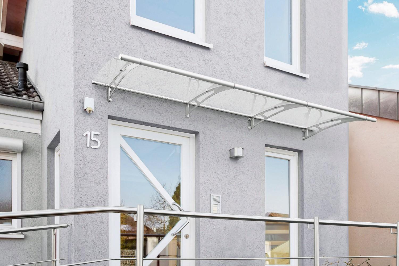 Rund ums Haus Witterungsbeständige Design-Vordächer von Gutta schützen vor Wind und Wetter - News, Bild 1