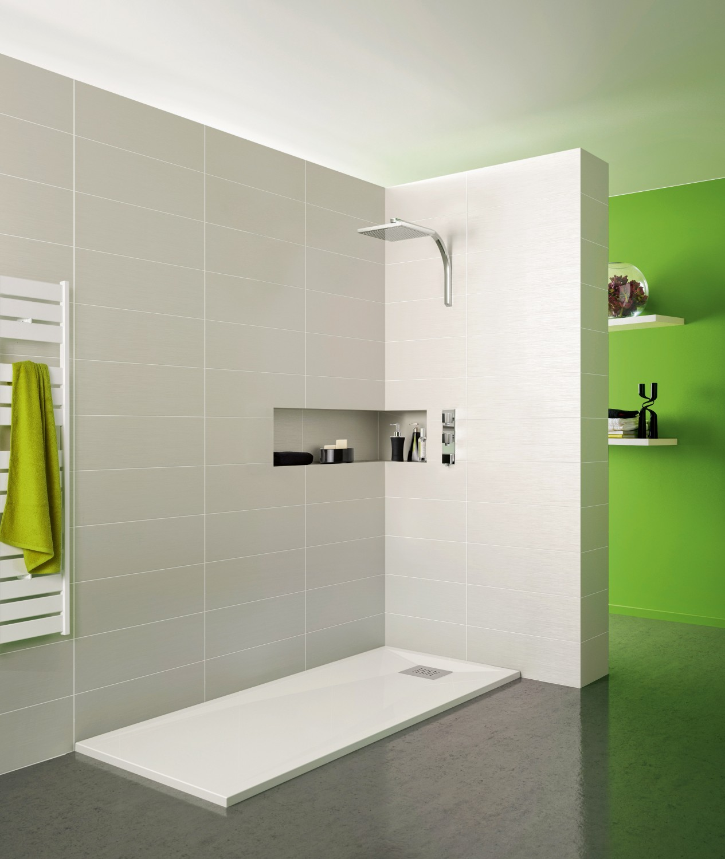 Rund ums Haus Wohlfühleffekt garantiert - Flache Dusche, hoher Komfort mit SFA Sanibroy - News, Bild 1
