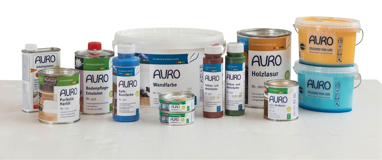 Service Natürlich farbig – Ökologische Farben für gesundes Wohnen von Auro - News, Bild 2