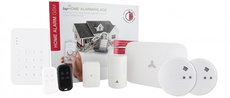 smarte alarmanlage warnt auch per sms und anruf optionale sensoren erh ltlich. Black Bedroom Furniture Sets. Home Design Ideas