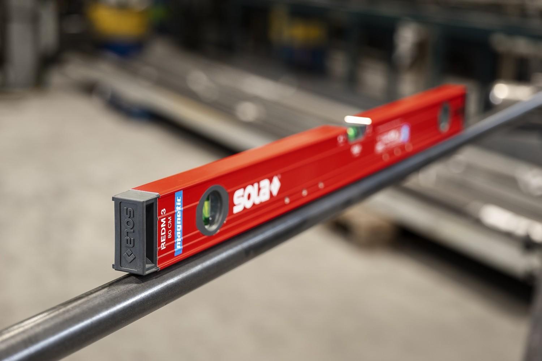 Werkstatteinrichtung Magnet-Wasserwaagen RED M und BIG RED M von SOLA - News, Bild 5