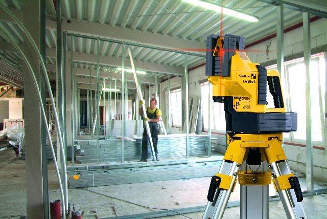 E-Werkzeuge Akku Schnell und korrekt messen mit dem Multilinien-Laser LA 180 L von STABILA - News, Bild 1