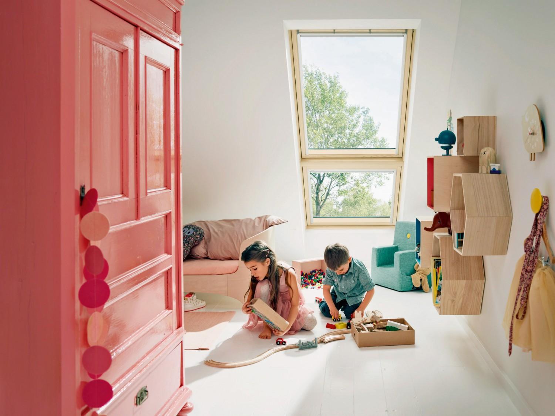 Rund ums Haus Kindersichere Velux-Dachfenster bieten auch den Kleinsten freien Ausblick - News, Bild 1