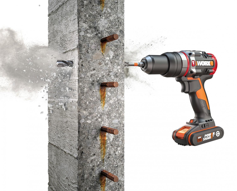 Produktvorstellung Worx bringt einen aktiv hämmernden Akku-Schrauber auf den Markt - News, Bild 1