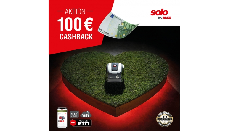 Gartengeräte Cashback-Aktion für AL-KO Rasenroboter - News, Bild 1