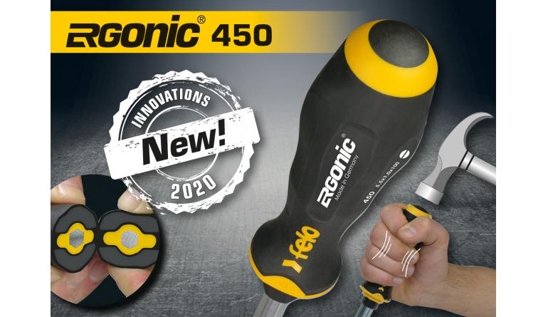 Handwerkzeuge Schlagkappen-Schraubendreher Serie 450 – kraftvoll, gelenkschonend und komfortabel - News, Bild 1