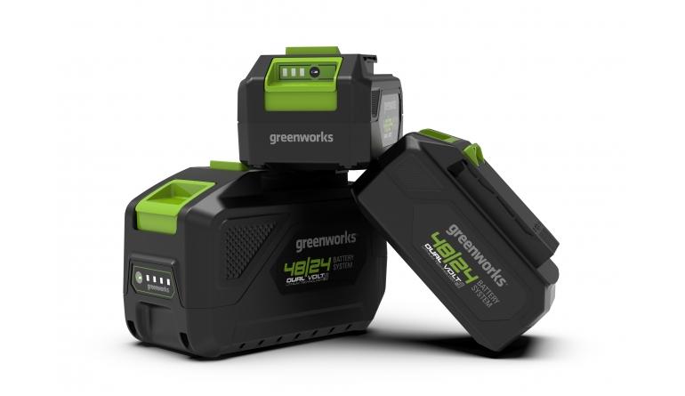 Arbeitsschutz Greenworks Akku für 24V- und 48V-System - News, Bild 1