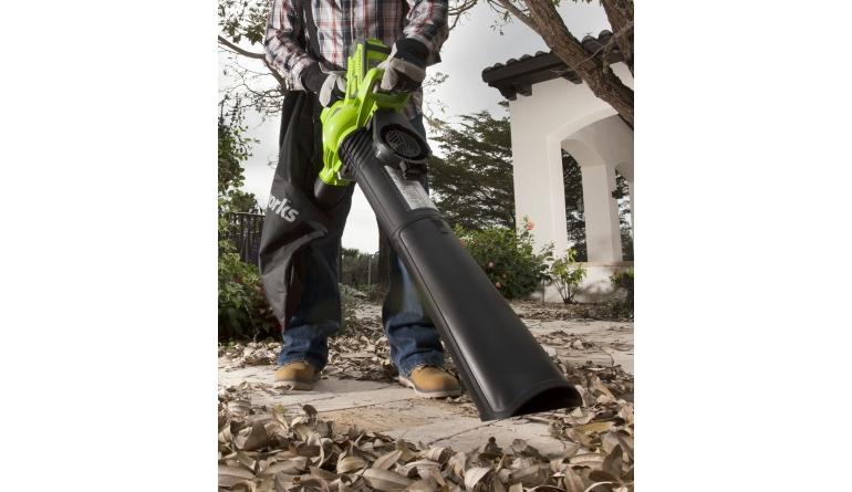Gartengeräte 40V Akku-Laubbläser und –sauger von Greenworks - News, Bild 1