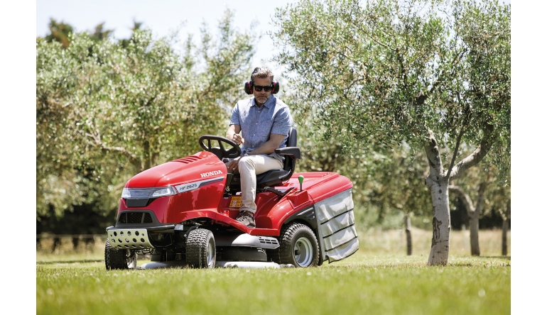 Gartengeräte Honda Rasentraktoren mit Top-Ausstattung - News, Bild 1